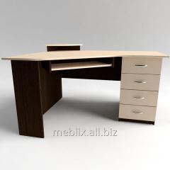 Стол компьютерный угловой с полкой под клавиатуру