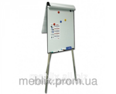 Board on a tripod flipchart magnetic a premium
