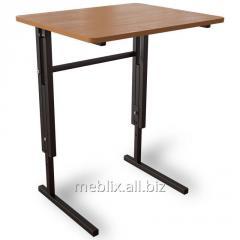 Стол Аудиторный ученический школьный, регулируемый по высоте одноместный для школьника любого возраста