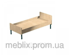 Bed adult single on an all-welded metal framework