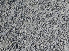 Mix peschano crushed-stone (PShchS) of fractions