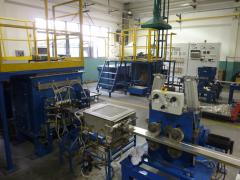 Cars of continuous molding of preparations
