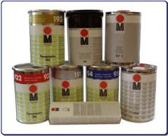 Краски тампопечатные фирмы Marabu(Германия).