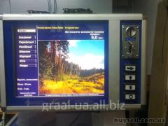 The wall jukebox of Lv_v / at / Jukebox Lviv
