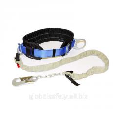 Belt bezlyamochny with a chain sling 2PB2