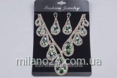 Art earring necklace set. NE2496