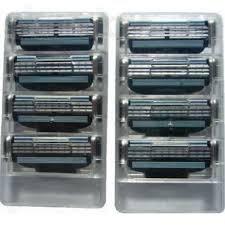 Лезвия катриджи Gillett mach3 4 штук кассета