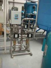 Installation of mixing of Myrgorod liquids