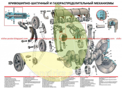 VAZ-2101 device stand Krivoshipno-shatunny and