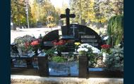 Granite crosses, gravestones, monuments
