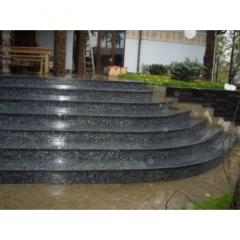 Granite tile for steps