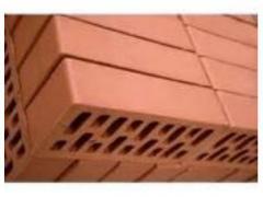 Кирпич керамический рядовой,полнотелый,красный