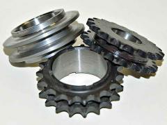 Production of cogwheels, gear wheel