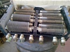 Ящик сопротивлений, блок резисторов ЯС-3 , Б-6 , ИРАК