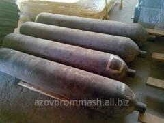 Cylinders under Nitrogen, 160 l.
