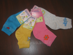 Socks nurseries cotton with computer drawing the