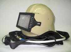 Blaster operator's helme