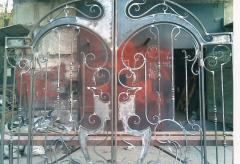 Gate are shod sliding