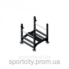 Power rack for a press of Inter Atletika KF106