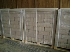 Briquettes fuel of wood biomass