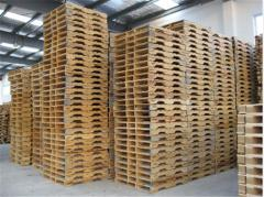 The pallet facilitated