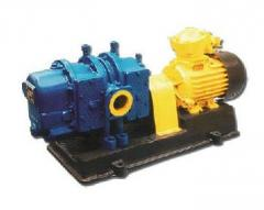 Gas blower 1G21. It is intended for transportation