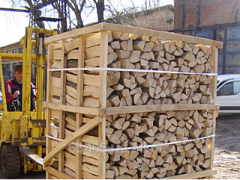 Firewood chimney (natural humidity) in RM
