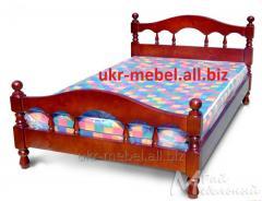 """Кровать """"Олимп"""" с натурального дерева"""