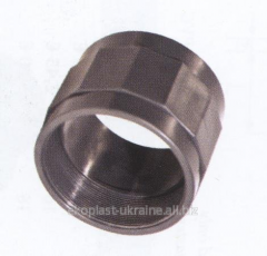 The coupling with a female thread of D. 110х4
