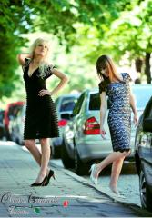 Платья эксклюзивные - авторские модели от Оксаны