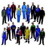 Одежда рабочая разная
