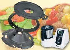 The kitchen Mycook robot with induction...