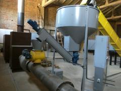 Bunker raw materials batcher