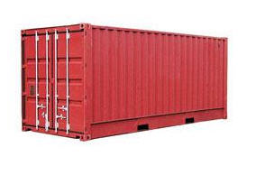 20-foot standard container.