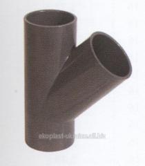 Tee backpressure valve D. 110 mm