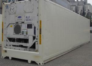 40-ка футовый high cube рефрижераторный контейнер