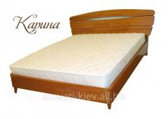 """Деревянная кровать """"Карина"""""""
