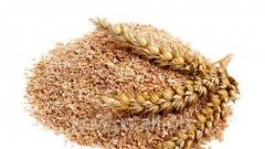 Bran wheatenbaking