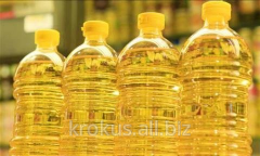 Sunflower oil raf.dez. packed up on