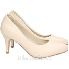 Бежево-розовые свадебные туфли Sasseks 40 10-16