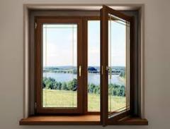 Wooden windows for giving for reasonable prices to