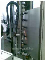 Capacitor equipment for dairy plants