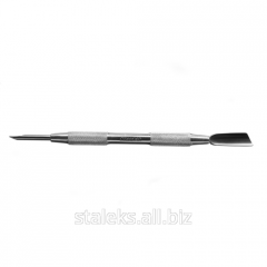 Лопатка маникюрная круглая лопасть Сталекс Л-04