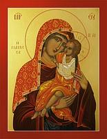 Богородица «Целительница». Икона