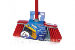 Brush for cleaning of rooms