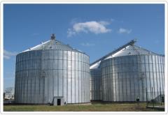 Оборудование для хранения зерновых