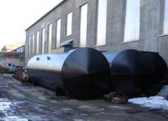 Металлоконструкция резервуаров для нефти и