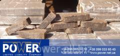 Peat briquettes (the European analog - ruf).