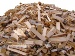 Дрова колотые хвойных пород древесины - Сосна,