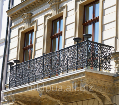 Handrail for balconies Dnipropetrovsk